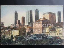 Old PC Italy: S. GIMIGNANO - Panorama delle Torri, Vista dal Conservatorio
