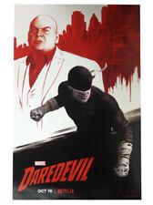 Daredevil 2018 NYCC Comic Con Exclusive Promo Netflix Poster Paolo Rivera Marvel