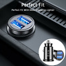 Fast Car Charger 2 USB Port For Iphone Samsung Cigarette Lighter Socket Adapter