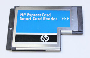 HP Smart Card Reader SCR3340 SCM Microsystems ExpressCard 54 458984 458899 001