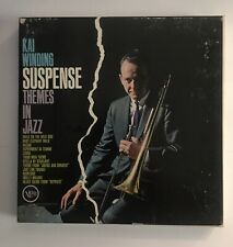Kai Winding Suspense Themes In Jazz Reel To Reel Tape 7.5 IPS 7 1/2 Jazz Tested