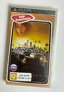 Need for Speed Undercover Sony PlayStation PSP Brand NEW & Factory Sealed