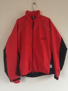GORE BIKE WEAR ActiVent Cycling Jacket Water Resistant Windproof Size M