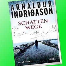 ARNALDUR INDRIDASON | SCHATTENWEGE | Island-Krimi (Buch)