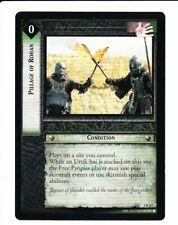 LORD OF THE RINGS CCG TTT  PILLAGE OF ROHAN