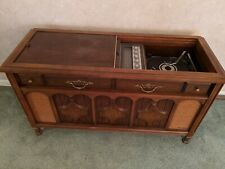 Magnavox record player console vintage