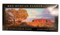 Vintage KEN DUNCAN - Panographs Jigsaw Puzzle - ULURU Australia 748 Pieces