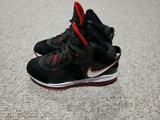 4f676269236 New ListingNike Air Max Lebron VIII (8) Black Red Miami Heat Men s Size 9  King James