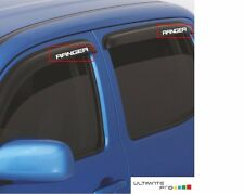 Sticker decal for Ford RANGER Vent Shade Deflector lift window kit 4X4 f150 leaf