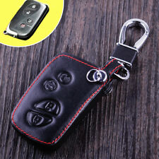 For Lexus IS LX GX PU Leather Car Remote Key Fob Holder Case Cover 4 Button