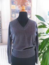 Joop! Damen Pullover grau mit V-Ausschnitt Gr. 38 NEU