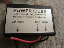 POWER CUBE Fuel Saving device (works!) / ignition enhancer (spark pre-ioniser).