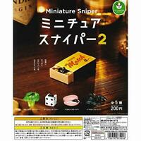 Panda hole miniature Sniper 2 All 5 set Gashapon mascot toys