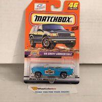 '55 Chevy Convertible #46 * Blue * Matchbox * B8