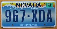 Nevada 2011 License Plate NICE QUALITY # 967-XDA