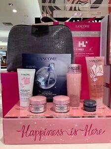 New Lancome Skincare Essentials Collection $124 VALU 7Pc Cleanser Face Cream SET