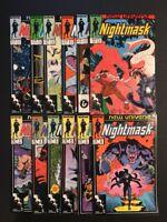 DC COMICS Night Mask (1986) 1,2,3,4,5,6,7,8,9,10,11,12 Complete Run!
