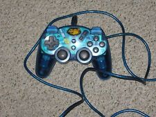 Playstation 2 Mad Catz Controller Dual Force 2 Pro Blue Wired
