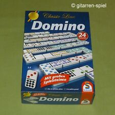 Classic Line: Domino mit großen Spielsteinen 24 Varianten von Schmidt 1A Top!