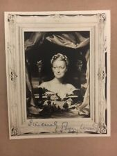 Peggy Wood Sound of Music  Signed 4 1/2 x 5 1/2 Sharp Photo Auction COA