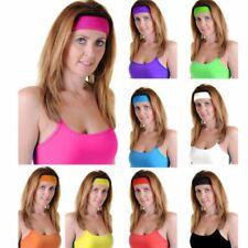 Unisex Headband Stretchy Gym Toweling Exercise Elastic Sports Sweat HairBand