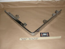OEM 75 Cadillac DeVille RIGHT PASS SIDE CHROME LOWER FRONT BUMPER END CORNER