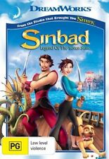 Sinbad: Legend of the Seven Seas - Adriano Giannini NEW R4 DVD