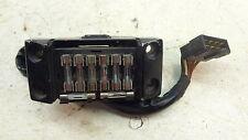1984 Honda CB700 SC Nighthawk S H764' fuse panel handlebar hold down
