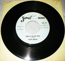 BUSTER BENTON - MONEY IS NAME OF THE GAME / GOOD TO LAST DROP - JEWEL BLUES
