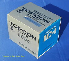 Double Layer Original Box For Topcon IC-1 Chrome Body 50mm F2.0 & Packaging