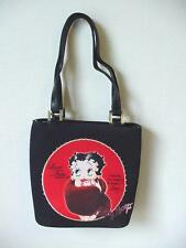 BETTY BOOP PURSE #71 FUR STOLE DESIGN BLACK & RED