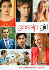 GOSSIP GIRL TV SERIES COMPLETE FIFTH SEASON 5 New Sealed 5 DVD Set