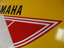 Canadian EUROPEAN 1976-1977 YAMAHA YZ 100, 125 MX decals RED+WHITE+BLK for tank