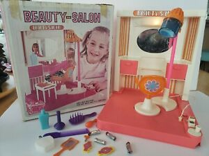 Vintage Beauty-Salon Exclusive for Sears 1960s & Accesories WORKS W/BOX