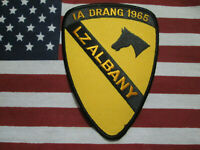 1ST CAVALRY DIVISION IA DRANG 1965 LZ ALBANY COLOR PATCH VIETNAM