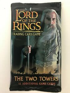 Lord of the Rings Trading Card Game LOTR TCG The Two Towers Expansion pack NEW