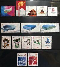 CINA - Selezione 15 valori nuovi **mnh TUTTI DIVERSI tema olimpiadi come da foto