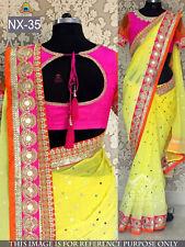 New Bollywood designer Saree Wedding Fancy Indian Ethnic Sari Party Wear Saree
