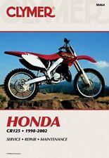 CLYMER REPAIR MANUAL M464 - Honda CR125R 1998-2002