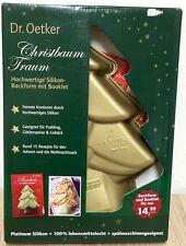 DR. OETKER CHRISTBAUM TRAUM - Silkonbackform Weihnachtsbaum plus Broschüre