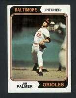 1974 Topps #40 Jim Palmer EX/EX+ Orioles 123466