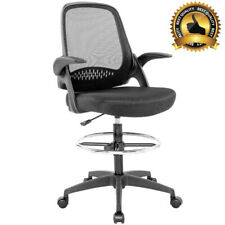 New listing Ergonomic Mesh Office Chair with Lumbar Support Flip-Up Arms Tall Office Chair