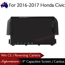 "9"" Head Unit Navigation Car DVD GPS Player For 2016-2017 Honda Civic"
