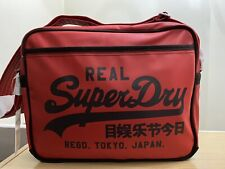 Superdry Classic Alumni Bag - Football Red BNWT - Ref NA03