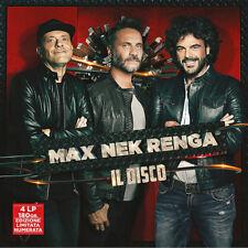 MAX NEK RENGA - IL DISCO - 4LP VINYL BOXSET NEW SEALED 2018 - COPY # 0688/1000