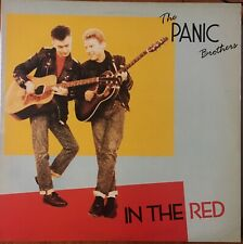 """The Panic Brothers """"In The Red"""" Special Delivery SPM 1003 UK 1st A1/B1 1987"""