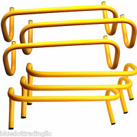 New BlueDot Trading Speed Training Hurdles (Pack of 6), 6-Inch Height, YELLOW