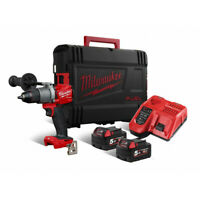 MILWAUKEE | M18 FPD2 502X Trapano Percussione Avvitatore 18V +2 Batterie 5.0Ah