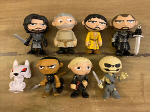 Mystery Minis Game Of Thrones Lot Multiple Series Greyworm Hodor Jon Ghost More