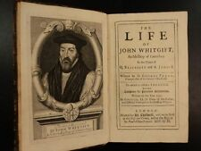 1699 Life of John Whitgift Archbishop of Canterbury Reformation Conspiracies